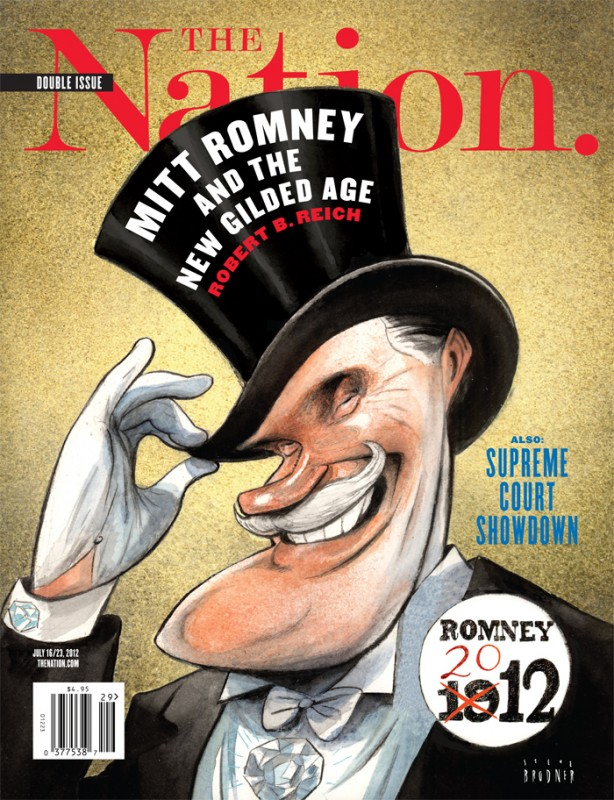 Romney 1912 Nation Cover