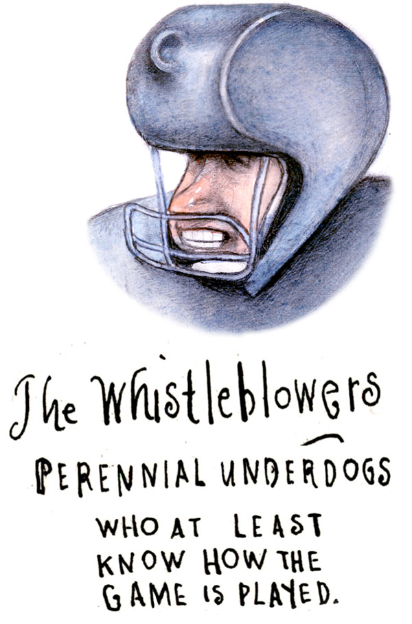 Whistleblowers for Blog