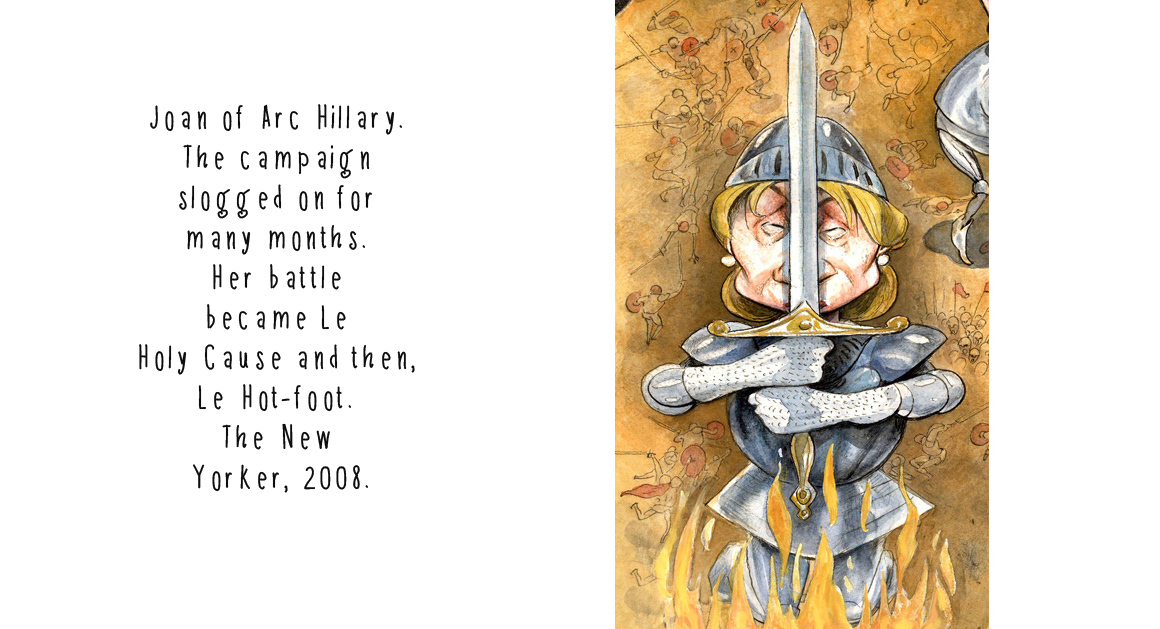 Hillary 14 Joan of Arc w type